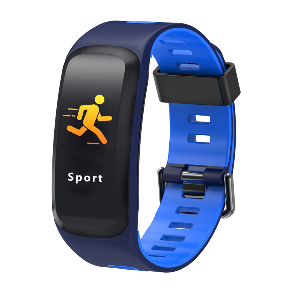 IP68 กันน้ำสร้อยข้อมือสมาร์ทกีฬาสายรัดข้อมือ GPS นาฬิกาความดันโลหิตออกซิเจน Heart Rate Monitor Fitness Tracker-ใน สายรัดข้อมืออัจฉริยะ จาก อุปกรณ์อิเล็กทรอนิกส์ บน AliExpress - 11.11_สิบเอ็ด สิบเอ็ดวันคนโสด 1