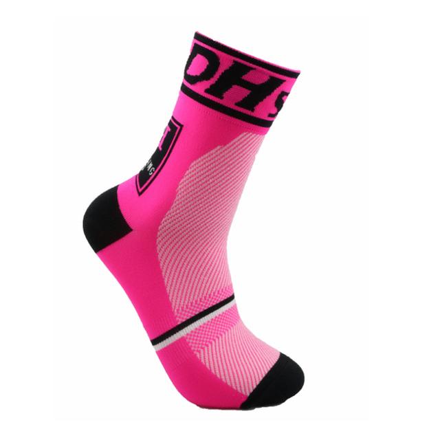 Breathable Crew Length Socks for Sports