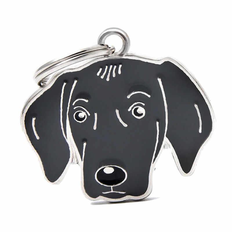 ขายร้อน 1pcs เคลือบ WEIMARANER สุนัข charms แยก key ring Key Chain กระเป๋าทำ fit สำหรับสุนัขสัตว์เลี้ยงคอ key chain HC466