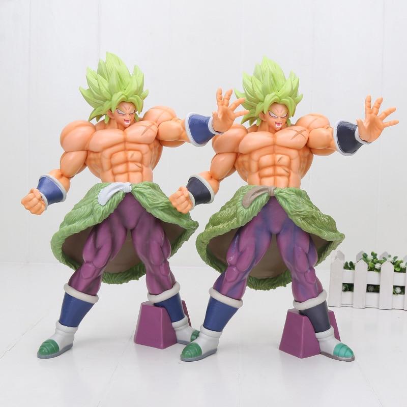 32cm Big Dragon Ball Super Sayian Broly Broli The 20th Film PVC Action Figure Toys