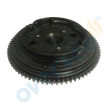 Flywheel Rotor 68T-85550-11 For YAMAHA Outboard Motor 8HP F8MLHF 4-STOKE 2001- later 68T-85550