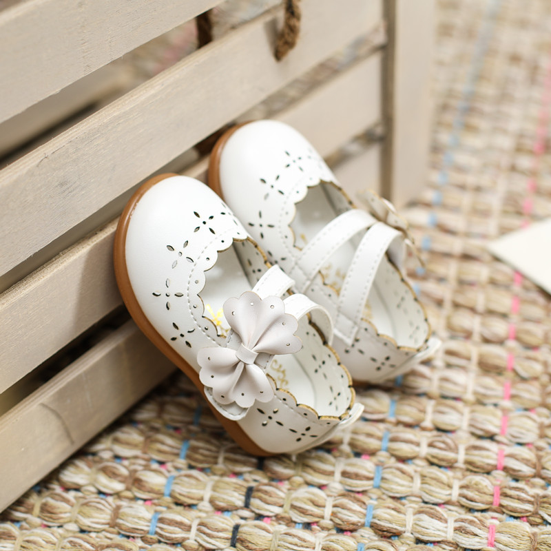 Maggie's Walker casual shoes  princess infanta ranee begum rani comfortable moccasin-gommino hollow out leather shoes  girls