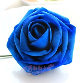 500 шт. X(6 см) один Пена розовыми цветами стволовых в 12 различных Цвета для выбора свадебные цветы.* по EMS - Цвет: dark blue