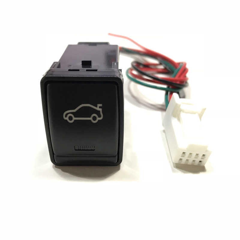 LED Front Rear after Fog Light Radar Parking sensor Camera Recorder Monitor Trunk Switch Button wire For Nissan Teana Qashqai