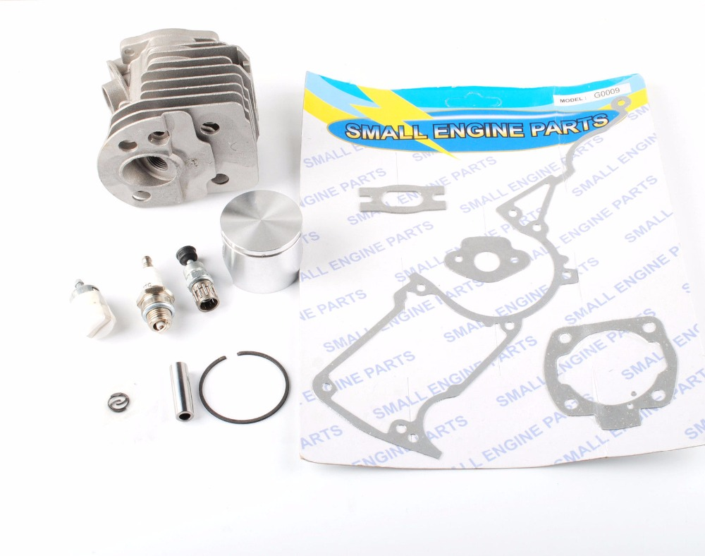 Cheap small engine parts - For Husqvarna 55 51 Chainsaw Parts 46mm Cylinder Piston Kits Gasket Oil Filter Ae0549 China
