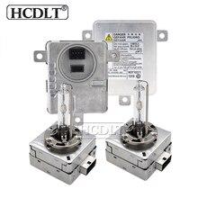 HCDLT Xenon D1S 55 W D3S D1S ESCONDEU Kit Xenon 5000 K 6000 K 4300 K 8000 K Farol De Metal lâmpada HID D1R D3R D3S Lastro Kit Car Styling