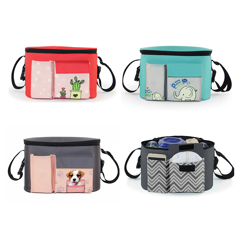 Multi-function Baby Stroller Hang Bag Organizer Mummy Travel Thermal Care Insulated Diaper Nappy Bags Cart Accessories New Type