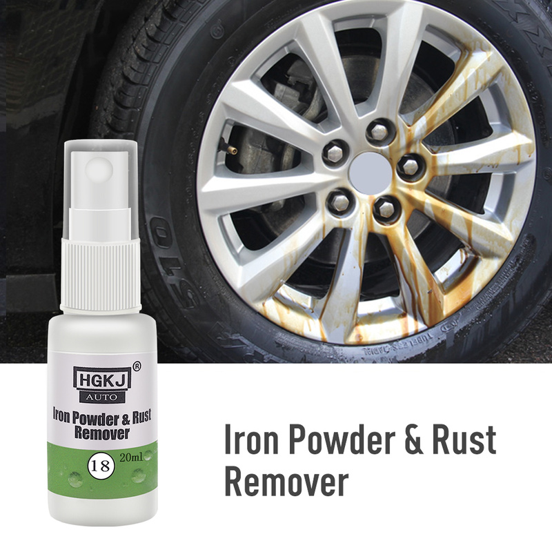 Car Paint Wheel Iron Powder Spot Rust Remover Cleaning Agent Wheel Rim Car Cleaner Coating Car Accessories Supplies Paint Care
