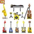 Instrumentos Musicais Mini Diamante Building Blocks Crianças Inteligência LOZ Modelos de Construção de Brinquedos Figura de Ação