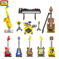 LOZ Musical Instruments Mini Diamond Building Blocks Children Intelligence Models Building Toy Action Figure