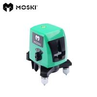 MOSKI ,2017 New model , AK437G green 2 lines green laser level , green ray level , 2 lines green laser level