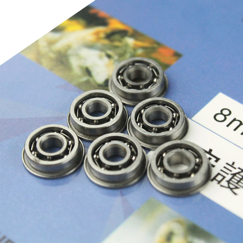 SHS 8mm Stainless Steel High Precision Ball Bearing For Airsoft AEG Gearbox-Free Shipping