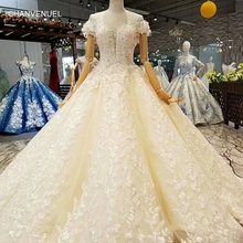 CHANVENUEL ball gown wedding dress gown with train