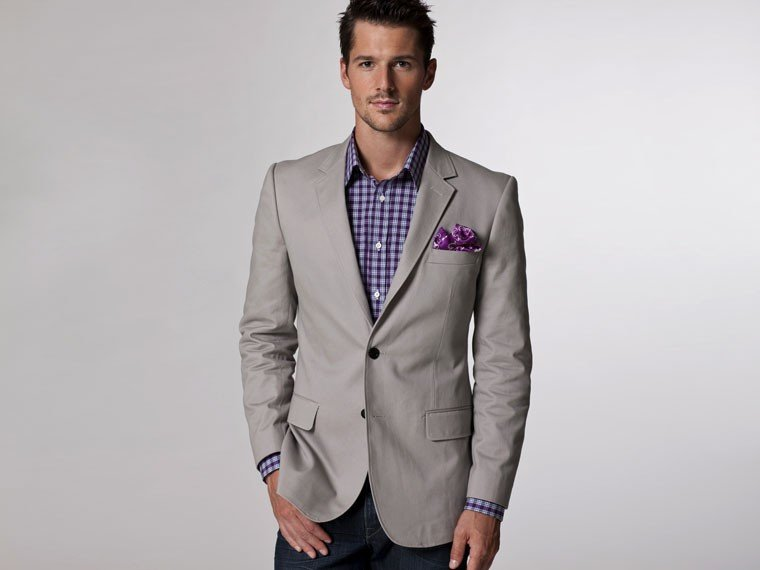 Popular Mens Blazer Light Gray-Buy Cheap Mens Blazer Light Gray ...