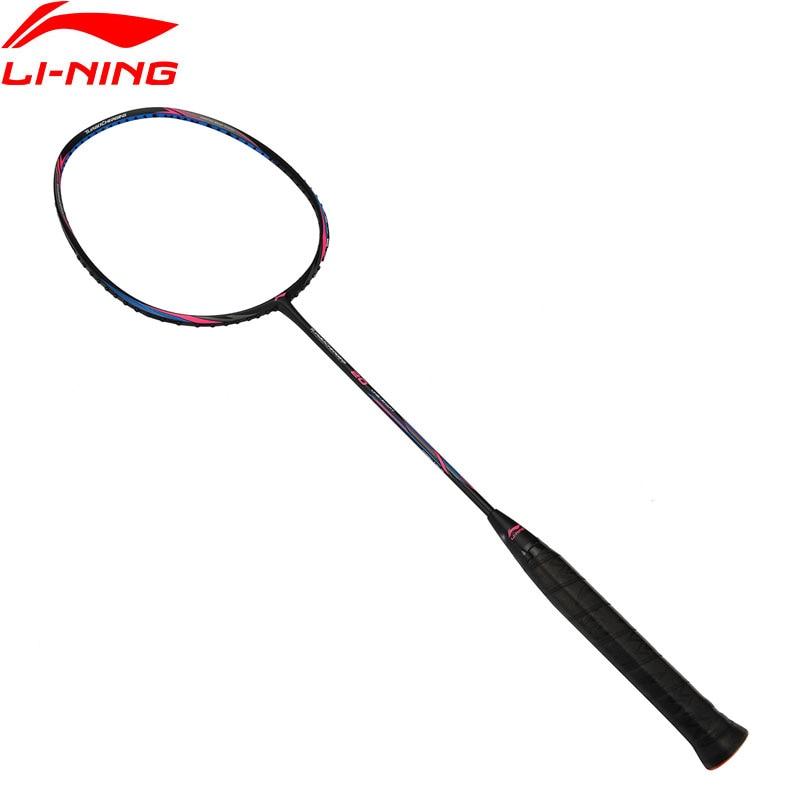 Li-Ning Turbo Charging 20 Badminton Racket LiNing Sports Single Racket No String AYPM436 ZYF310 li ning professional badminton rackets carbon high quality li ning badminton sports racquet lining sports single racket
