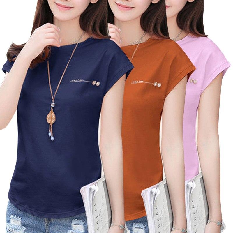 Women Blouse Summer Cotton Shirt 2020 Short Sleeve Lady Tops Female Solid White Black Slim Office Blusas Fashion Plus Size C51