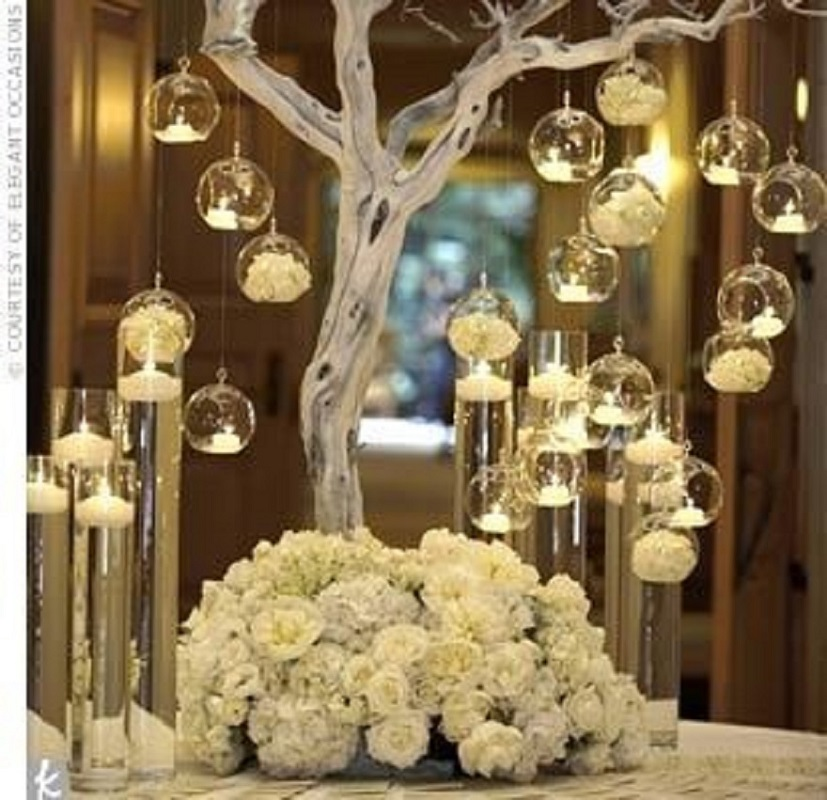 12Pcs Brand Hanging Tealight Holder Glass Candle Holders Globes Terrarium Wedding Candlestick Christmas Decorations For Home image