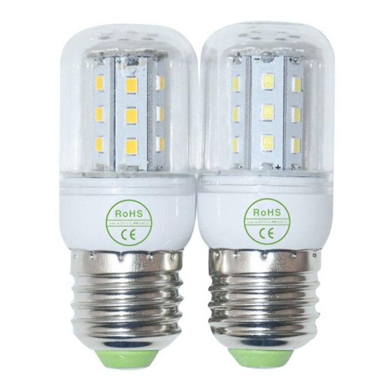 энергосбережения 220 в Е27 светодиодные лампы Сид smd2835 27/48/68/102/126 светодиодов 2835 Сид G9 лампада люстра потолочная Е14 в22 Лампа GU10 база