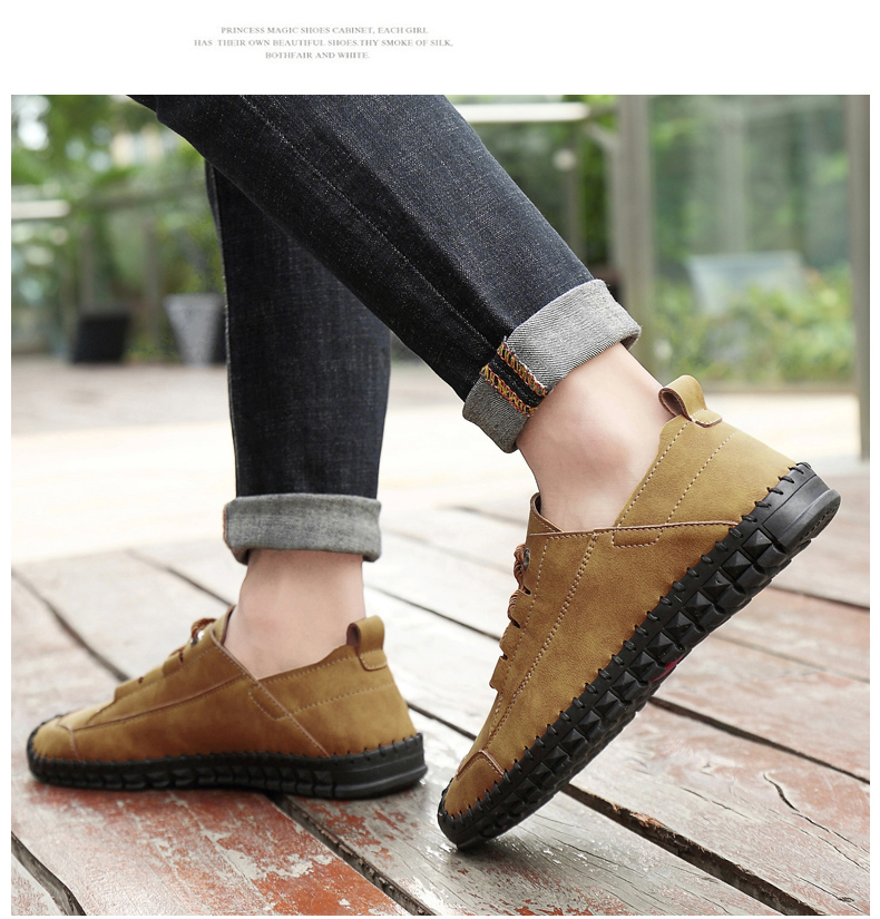 HTB1v2BgazvuK1Rjy0Faq6x2aVXa7 - 2019 New Fashion Leather Spring Casual Shoes Men's Shoes Handmade Vintage Loafers Men Flats Hot Sale Moccasins Sneakers Big Size