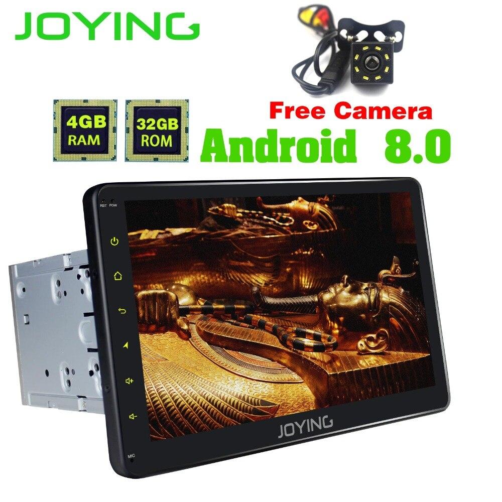 10.1Joying 4GB+32GB 2Din Head Unit Universal Android Car Radio Stereo Music Player Support Rear Camera OBD DVR GPS Navigation