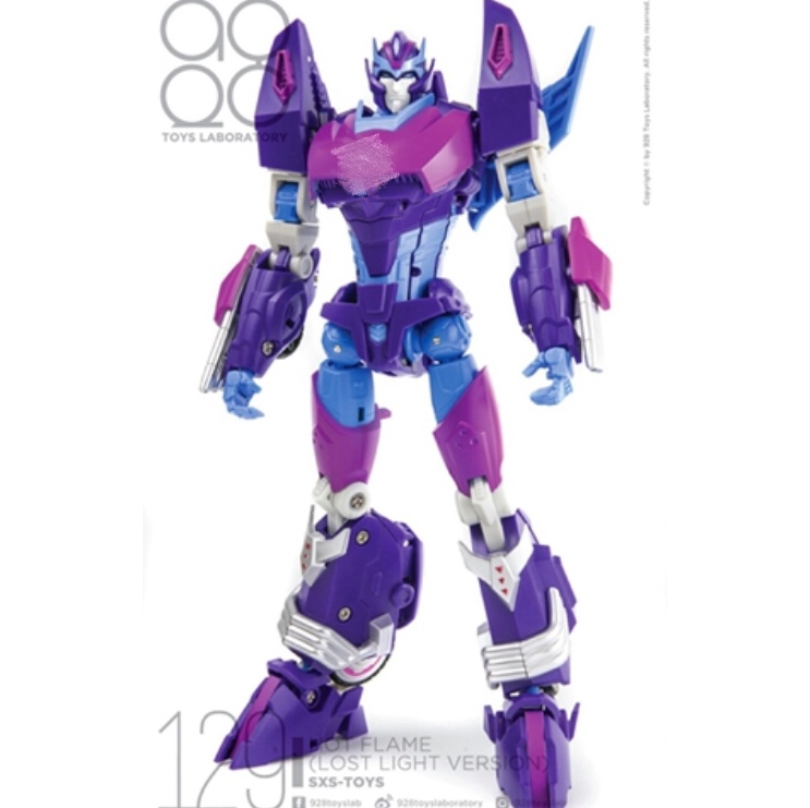 [Show.Z Store] SXS R-04B Hot Flame Rodimus Lost Light Version Transformation Action Figure helen myers r lost