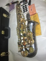 France Henri SELMER Alto Saxophone Eb And Saxophone Reference 54 Black Gold Key Body Professioanl Moer