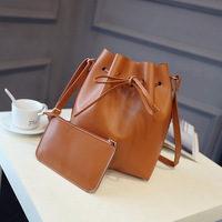 Quality Leather Women Handbags Bucket Bag High Grade Women Messenger Bags Ladies Shoulder Crossbody Bag Bolsas
