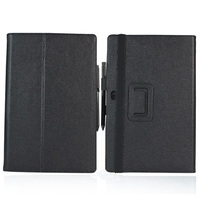 New 2 Folder Luxury Magnetic Folio Stand Leather Case Protective Cover For Microsoft Surface RT 1