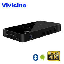 Vivicine Pocket Mini 4K Projector,Android 6.0 Octa core WiFi LED Home Theater Projector,HDMI USB PC Video Game Mobile Proyector