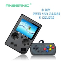 Video Game Console 8 Bit Retro Mini Pocket Handheld Game Player Built In 168 Classic Games Best Gift For Child Nostalgic Player