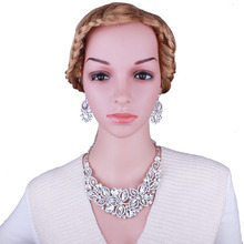 FARLENA Fashion Dubai Wedding jewelry sets earrings necklace sets beautiful African bridal Jewelry