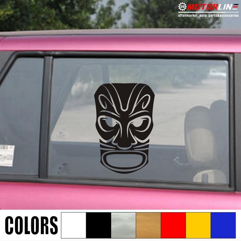 Tiki Surfboards Car Vinyl Sticker SELECT SIZE
