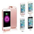 10000 мАч Беспроводной Вернуться Клип Дело Зарядное устройство Power Bank Телефон Владельца для apple iPhone 5S 6 6 s 7 6 6 s 7 плюс