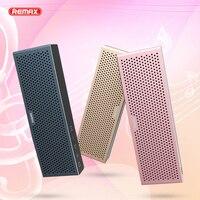 Remax Metal Bluetooth Speakers Portable Wireless Mini Speaker Music MP3 Player Support TF Card for xiaomi mi Bluetooth Speaker