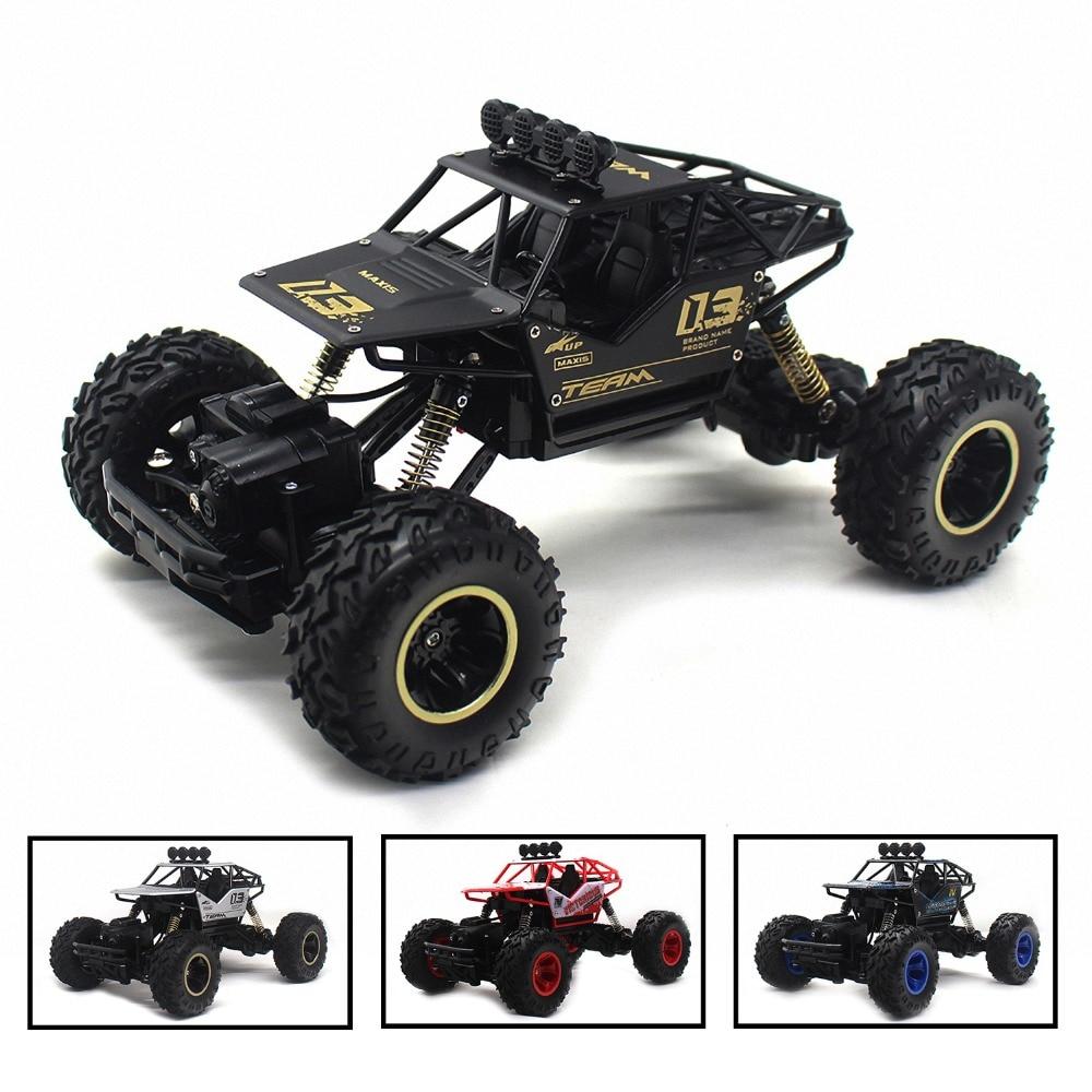 4WD électrique RC voiture Rock chenille télécommande jouets voitures sur la Radio contrôlée conduire hors route jouets pour route