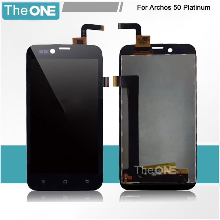 For ARCHOS 50 Platinum LCD Display + Touch Screen Digitizer for ARCHOS 50 Platinum LCD Screen + Free Shipping