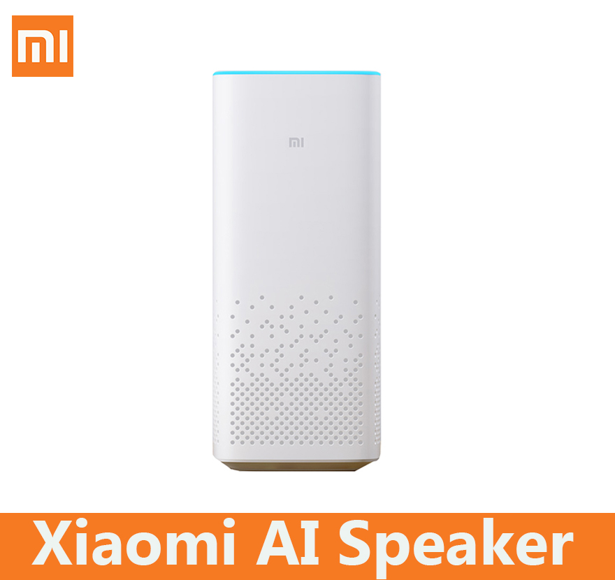 Xiaomi MI AI speaker wifi bluetooth voice remote control portable smart home light music player story