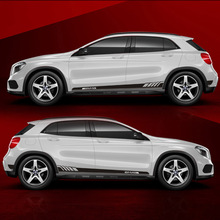 TAIYAO car styling sport sticker For Mercedes-Benz GLA200  GLA260 GLA220d 4MATIC accessories and decals auto