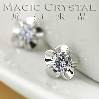 MOONROCY New Free Shipping Fashion Jewelry wholesale flower Crystal