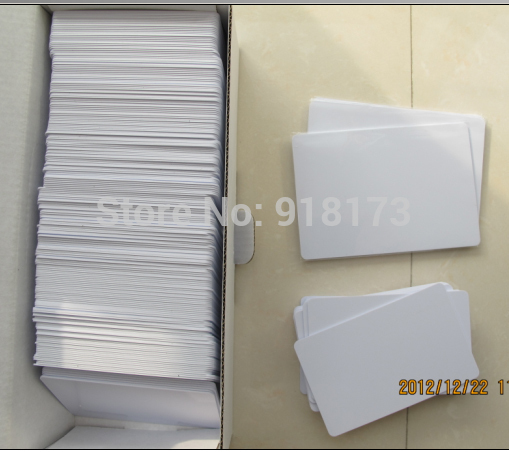 20pcs/lot Inkjet Printable blank PVC card for Epson printer, Canon printer