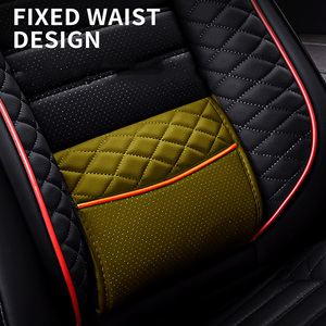 Image 4 - High PU Leather car seat covers 5 seats For BMW e30 e34 e36 e39 e46 e60 e90 f10 f30 x3 x5 x6 car accessories auto styling