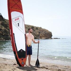 Image 2 - AQUA MARINA ATLAS planche de surf gonflable, palette debout, 366x84x15cm