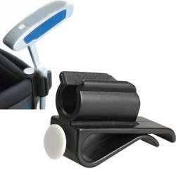 Новый 1 шт. гольф клюшки зажим держатель прочный гольф клюшки зажим держатель клуба клип мяч маркер Гольф аксессуары черный #920