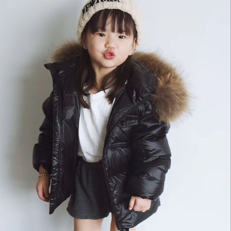 kid down jackets white duck down coats Hooded for boys girls autumn winter warm down Tops clothes in middle of September цена