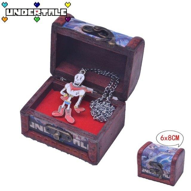 Кулон Undertale в подарочной шкатулке 2