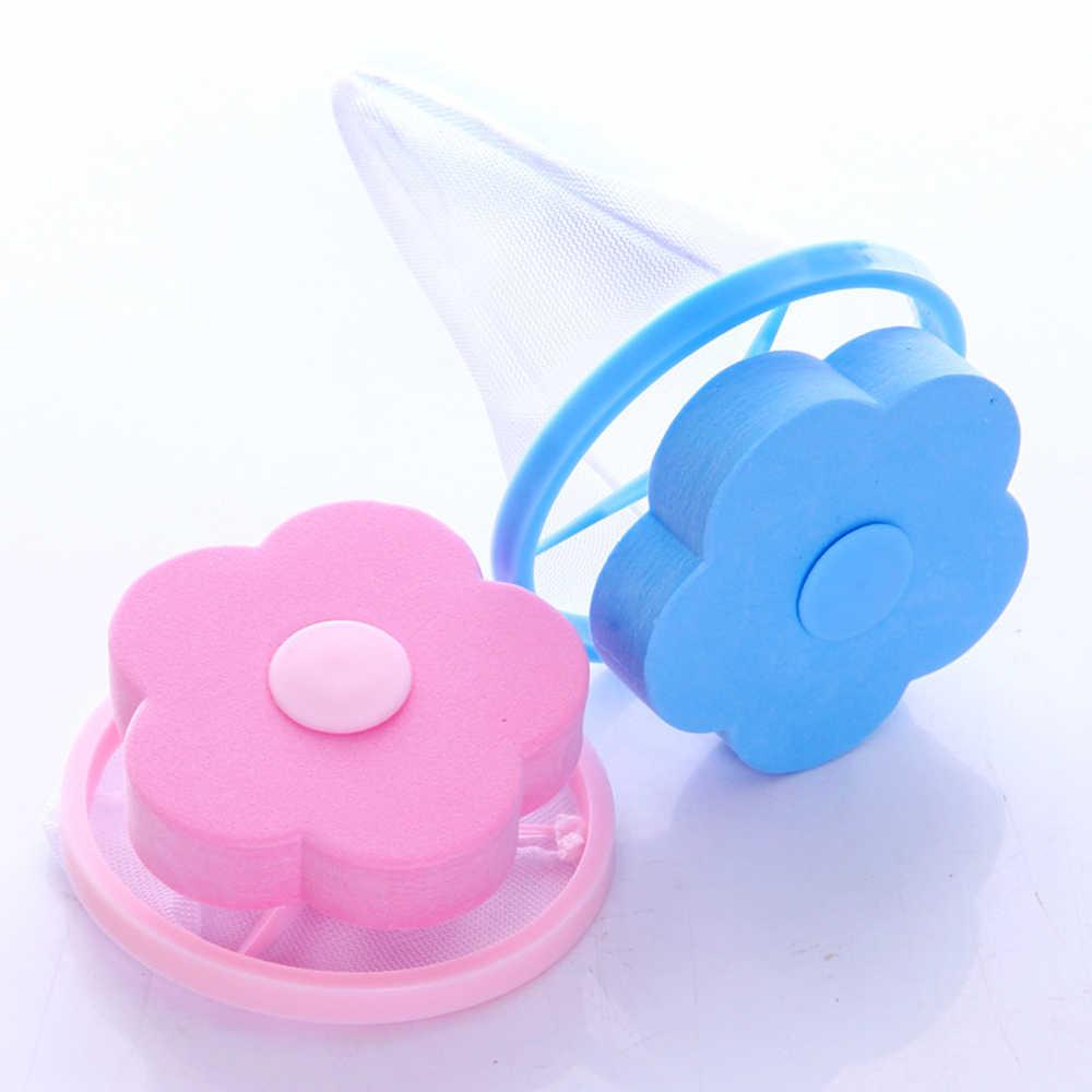 Do mycia filtr do maszyny Mesh netto torba pływak futro Catcher siatkowy urządzenie do usuwania włosów wełna akcesoria do czyszczenia