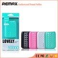 REMAX Mini Banco de la Energía 10000 mAh LED Móviles Cargador de Batería Externo Powerbank Portátil batería externa Universal de Copia de Seguridad