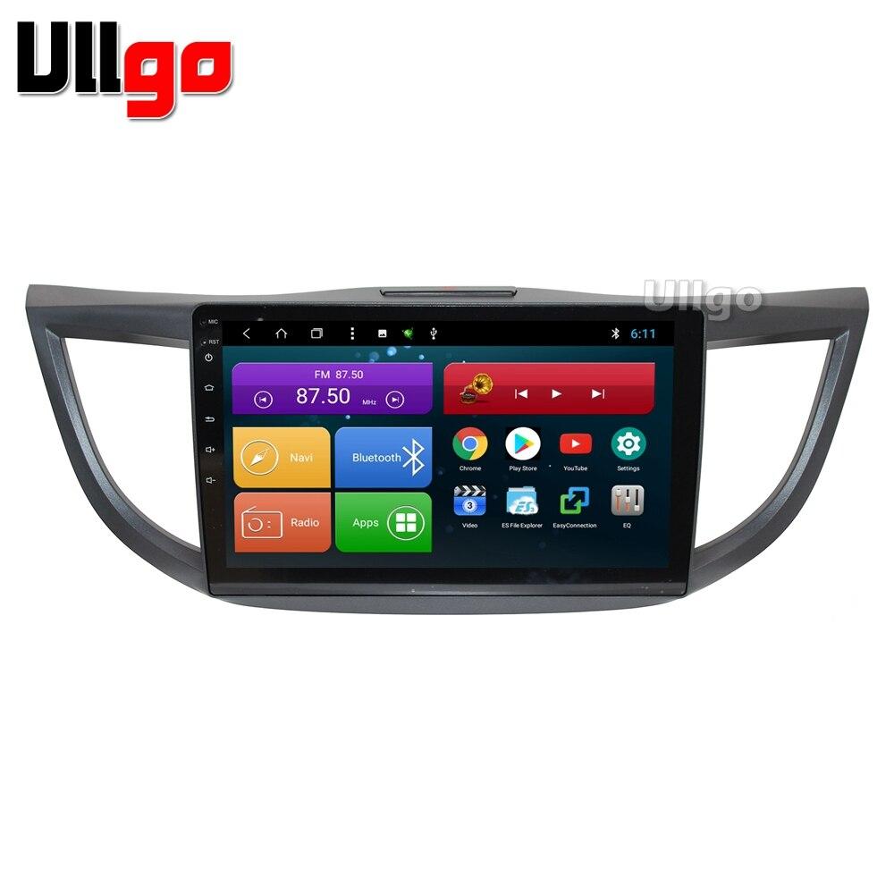 10.1 pouce Octa base Android 8.1 Voiture DVD GPS pour Honda CR-V 2012-2014 Autoradio GPS Unité De Tête de Voiture avec BT RDS WIFI MirrorLink