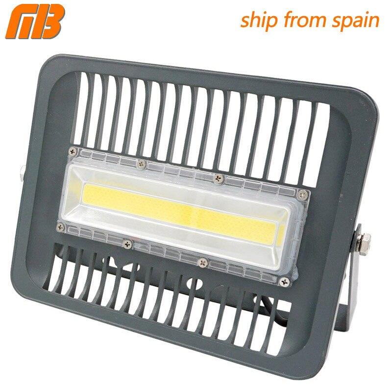 [Mingben] led proyector 30 W 50 W 100 W 150 W Iluminación de exterior AC 230 V IP65 impermeable CE llevó el reflector para el cuadrado jardín garaje