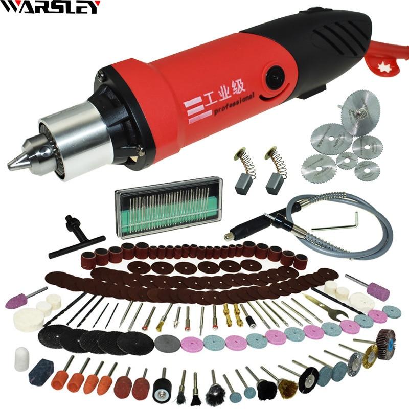 480W Gravador Dremel Furadeira Elétrica Caneta Gravura Moedor Mini Broca DIY Broca Elétrica Ferramenta Rotativa Mini-mill Moagem máquina